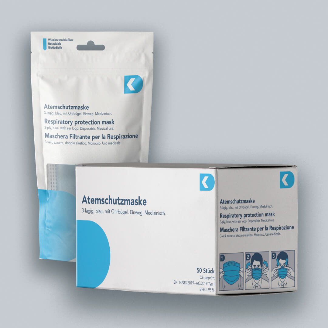 Medizinische Atemschutzmaske Typ I