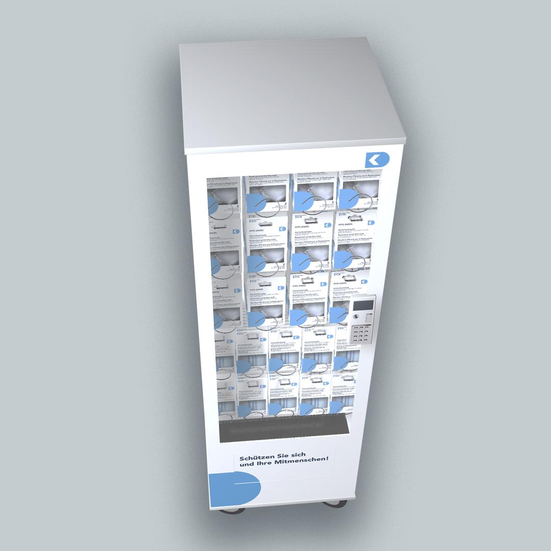 DK Medical Verkaufsautomat für Atemschutzmasken
