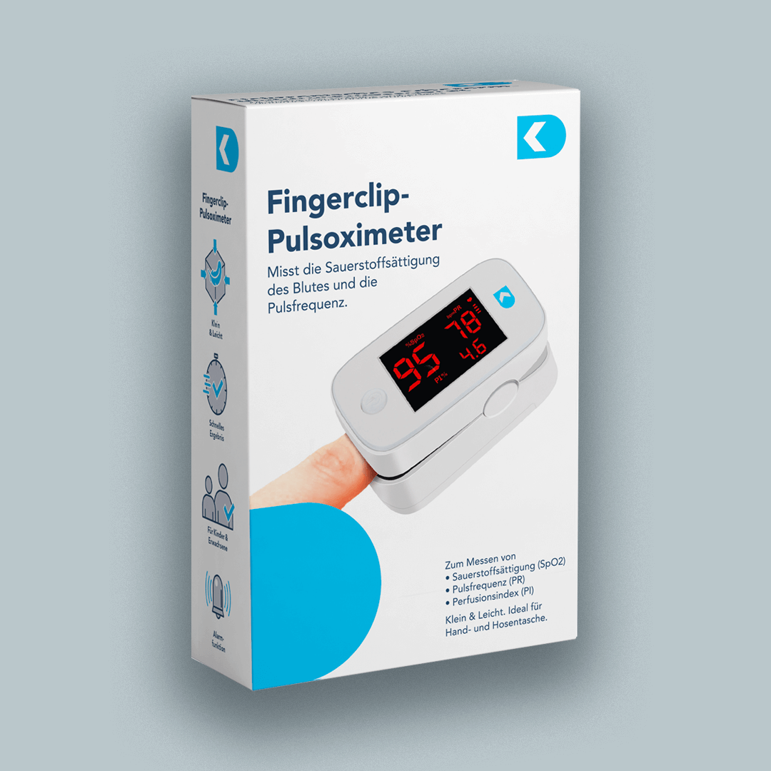DK Medical Fingerclip Oximeter
